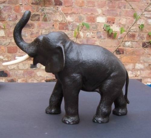 Japanese Bronze Elephant, Meiji Period | 41535 | Sellingantiques co uk