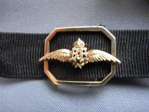 raf wings sweetheart bracelet - photo angle #2