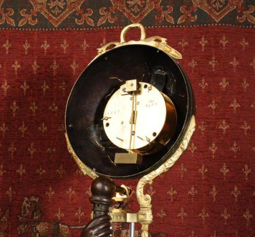Large swinging mystery clocks