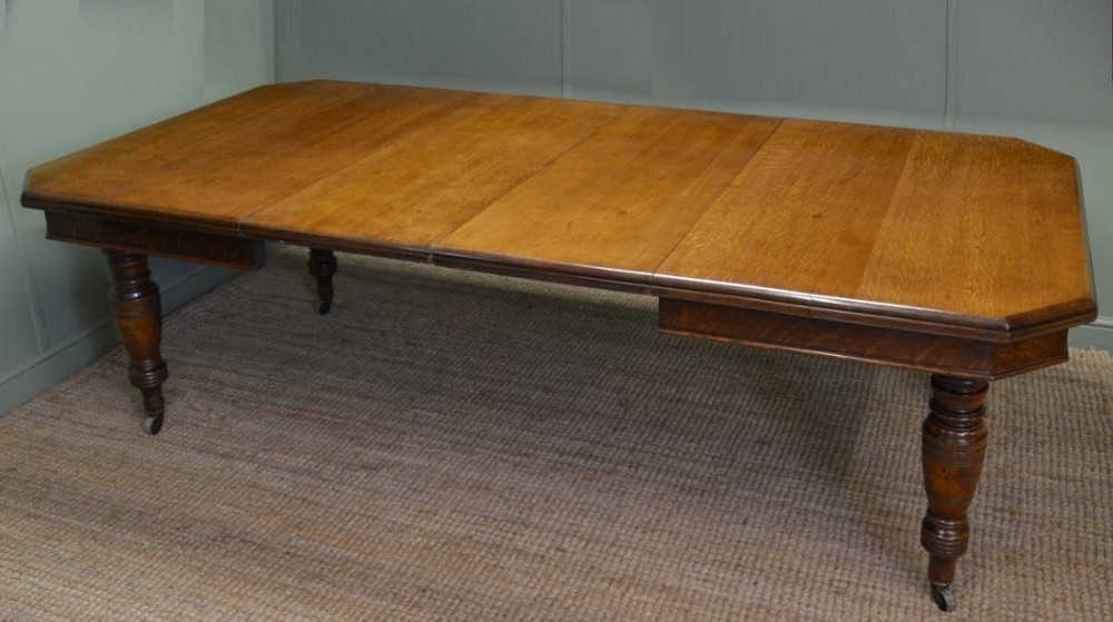 Antique victorian oak extending dining table 266848 - Antiques dining tables ...