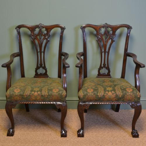 - Antique Chippendale Carver Chairs - The UK's Largest Antiques Website