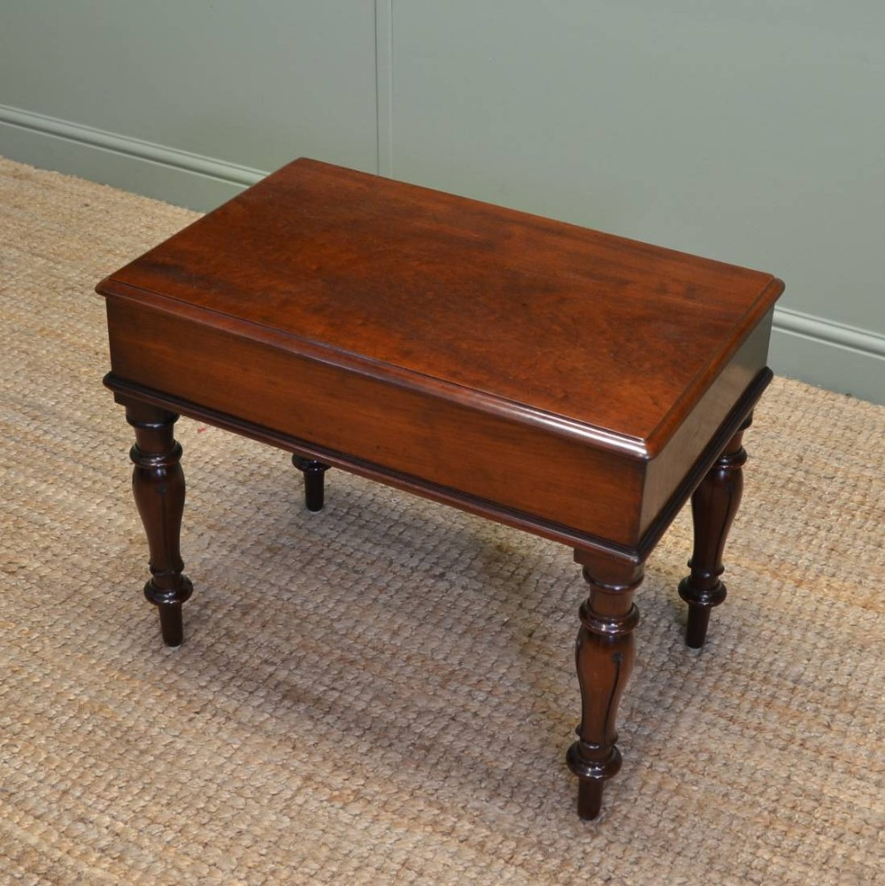 Unusual William Iv Quality Mahogany Antique Small Coffee Table 326533