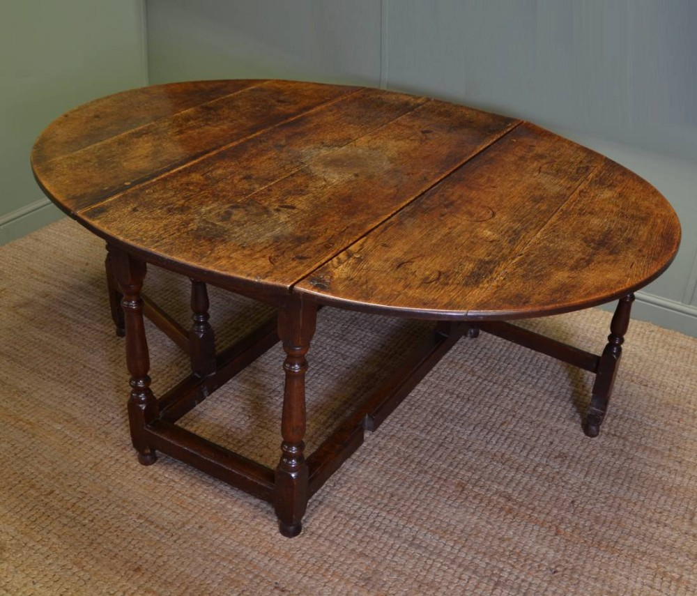 Large Eighteenth Century Country Oak Antique Drop Leaf  : dealerdriscollsantiqueshighres1444133261516 1278996715 from www.sellingantiques.co.uk size 1000 x 855 jpeg 195kB