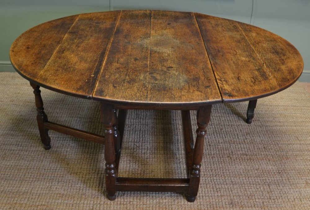Large Eighteenth Century Country Oak Antique Drop Leaf  : dealerdriscollsantiqueshighres1444133268000 8607838011 from www.sellingantiques.co.uk size 1000 x 676 jpeg 172kB
