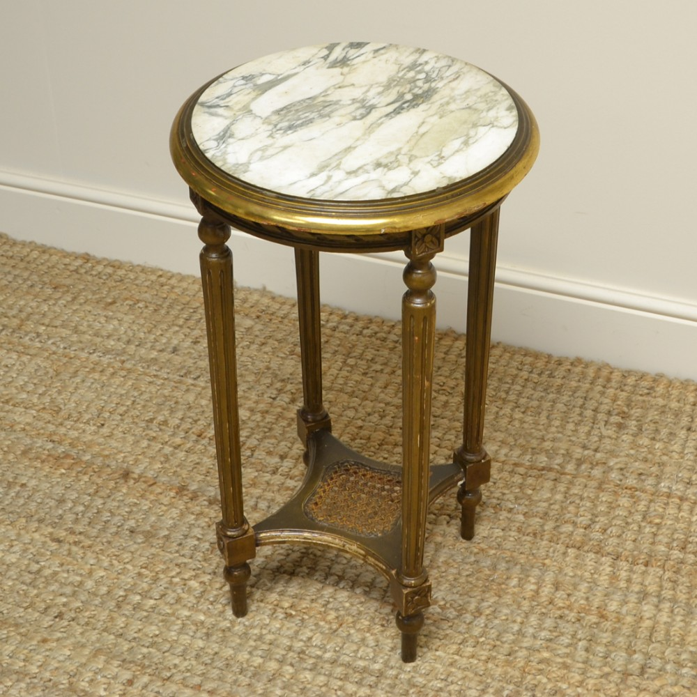 small country house gilt antique occasional table