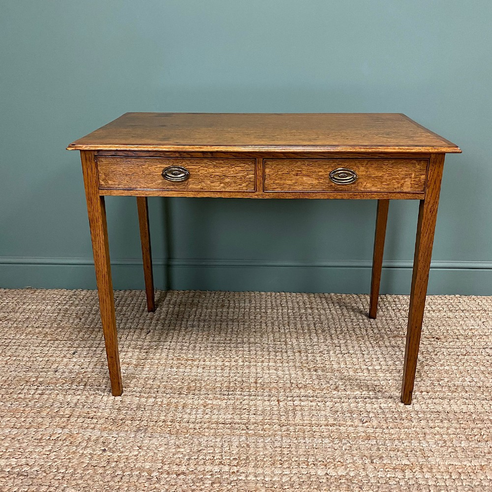 georgian country oak antique side table
