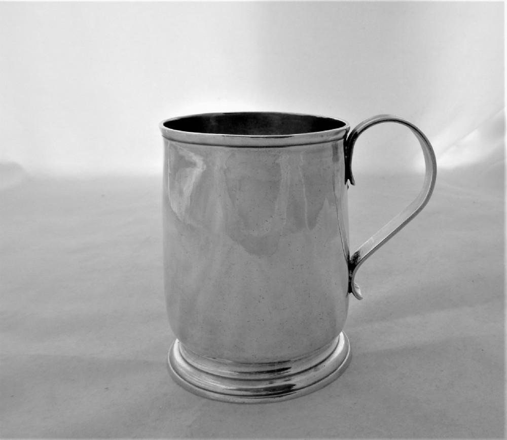 nice quality george i silver mug london 1722 george greenhill jones