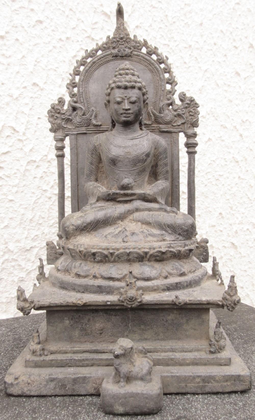 the bronze buddha samantabhadra in amaravati dress 11th century ad