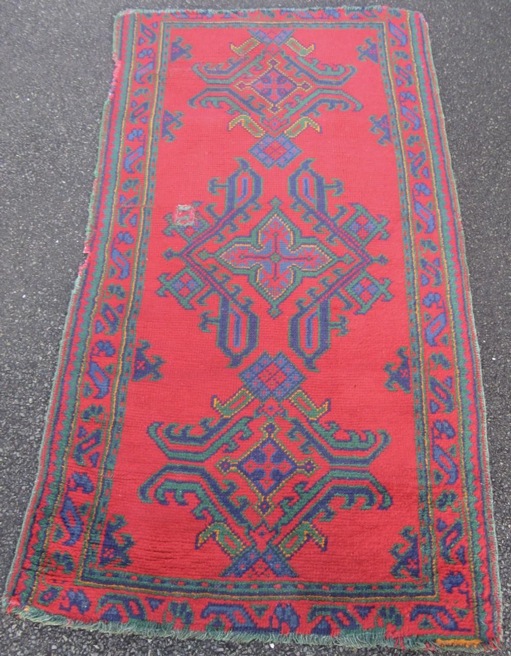 Antique Country House Shabby Chic Turkish Ushak Rug Turkey Rug 675885 Sellingantiques Co Uk