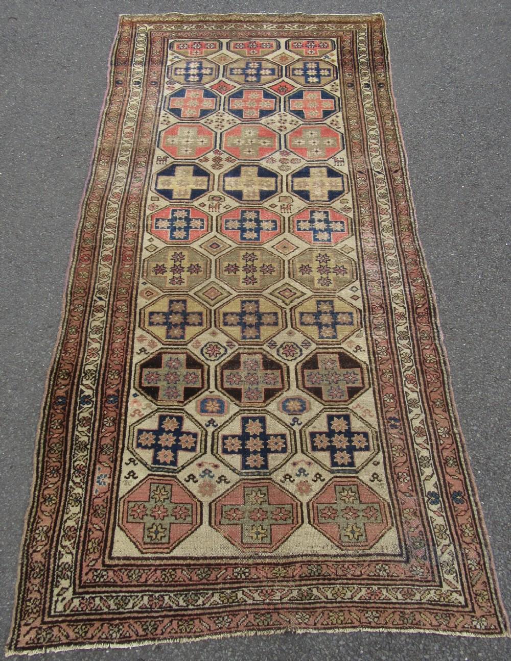 antique country house shabby chic large persian kurdish rug