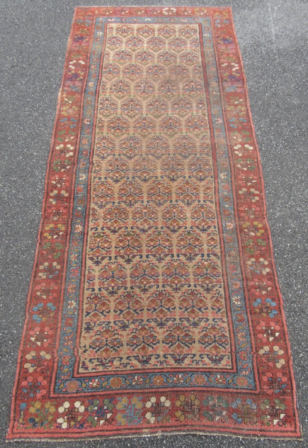 Antique Country House Shabby Chic Persian Kurdish Long Rug Runner 722484 Sellingantiques Co Uk