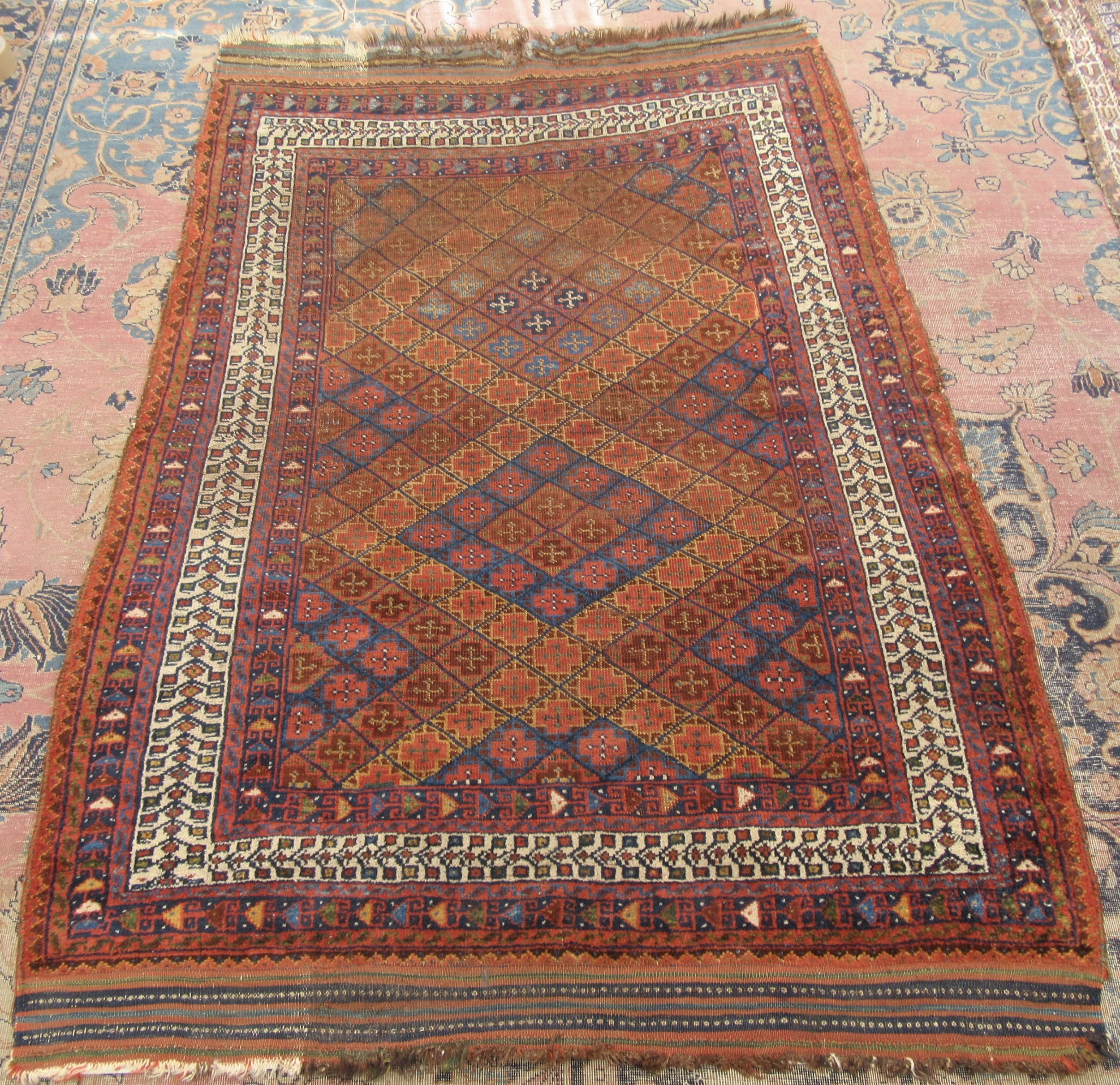 Peachy Antique Country House Shabby Chic Persian Afshar Rug Home Interior And Landscaping Fragforummapetitesourisinfo