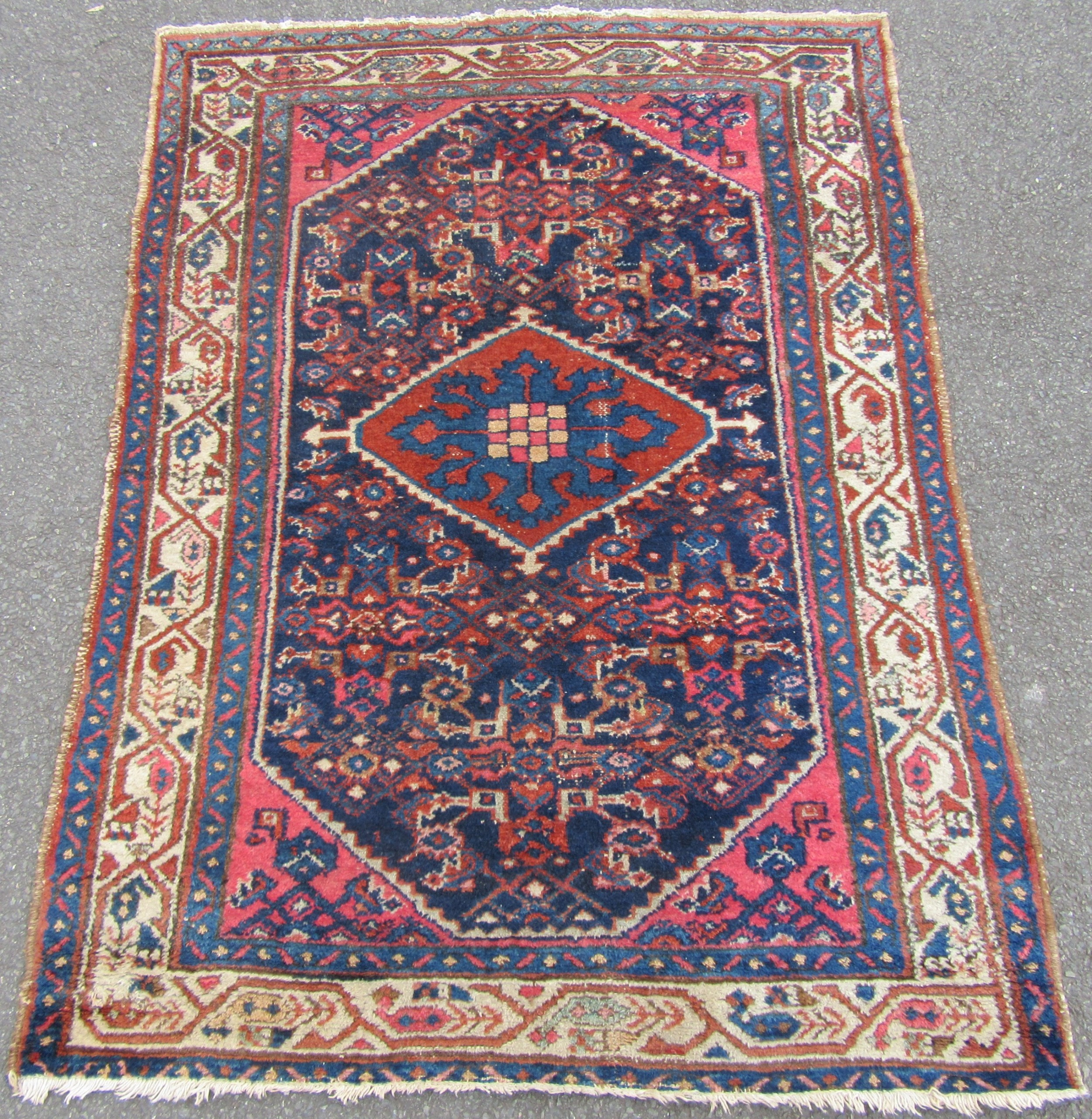 antique country house north west persian rug great colours