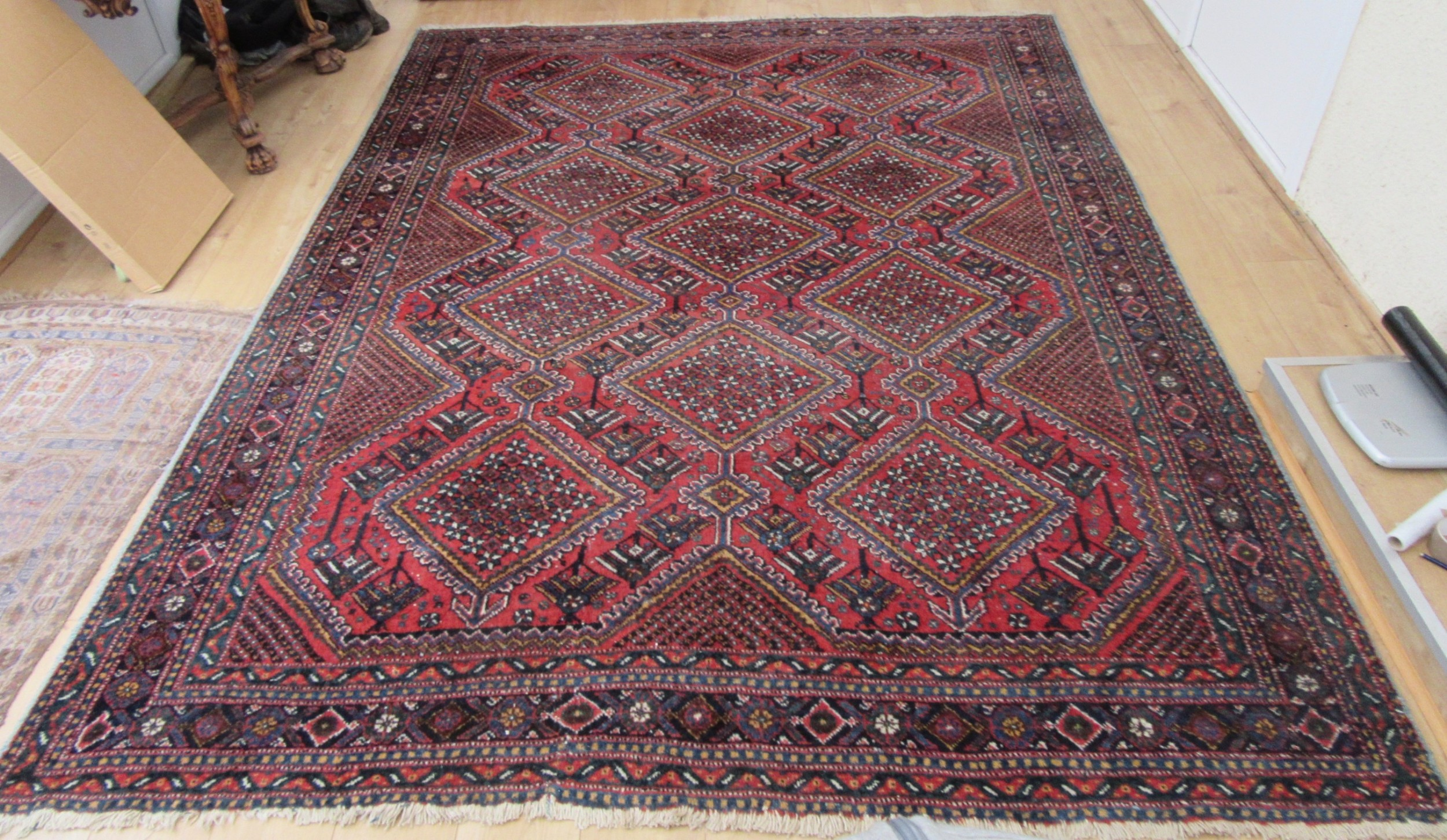 antique country house south west persian afshar carpet large rug room size