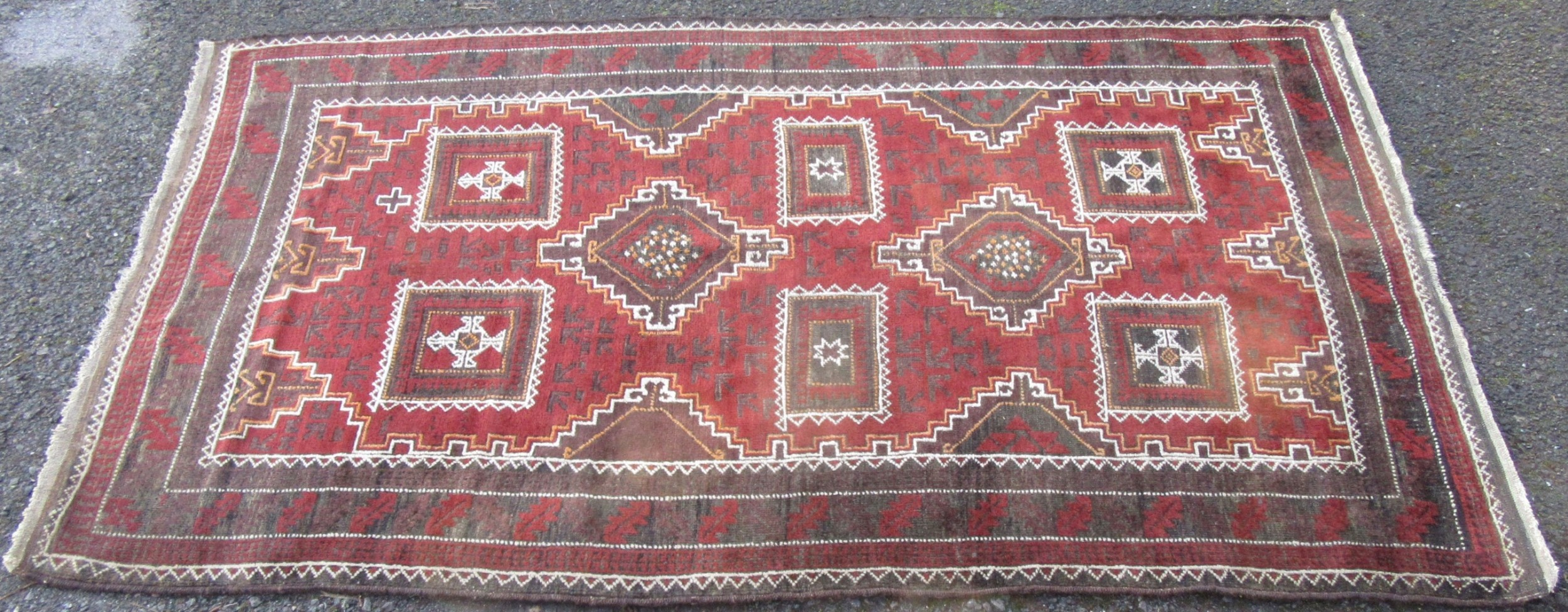antique country house persian balouch baluchi baluch tribal large rug