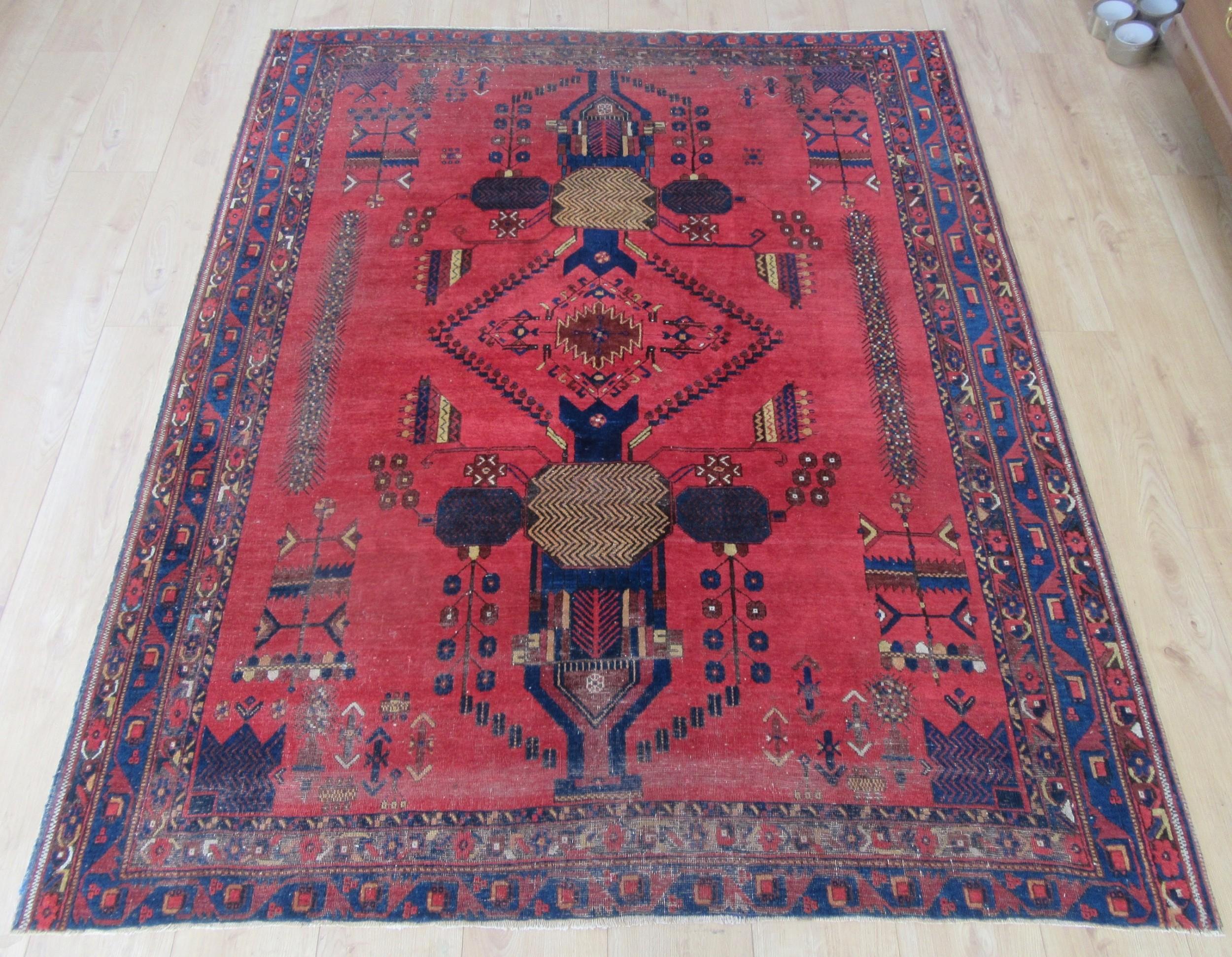 unusual design antique country house shabby chic persian afshar niriz rug