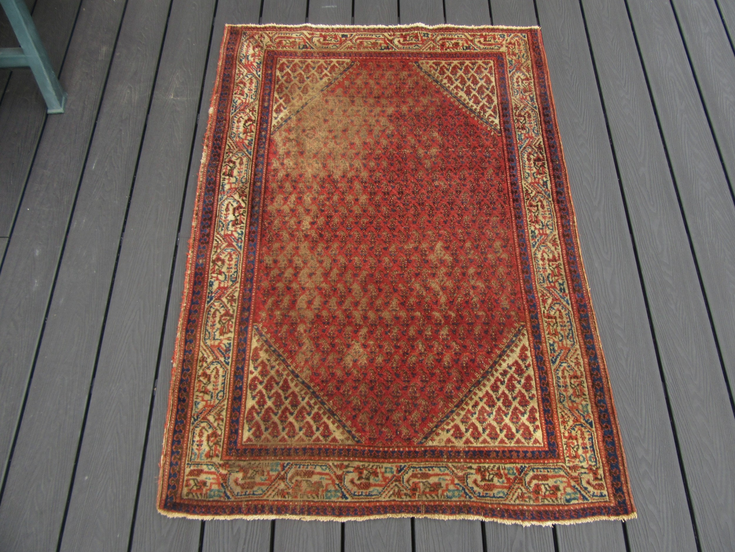 a very antique country house shabby chic north west persian saraband mir rug carpet