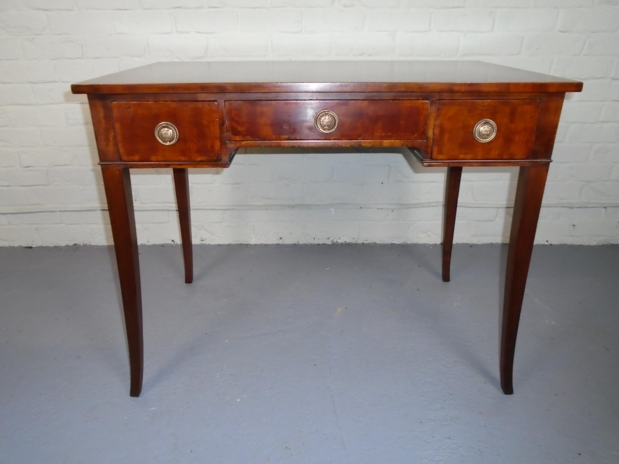 early 20th century mahogany side table
