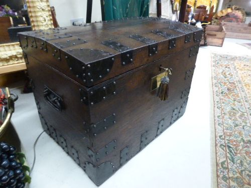 handsome 19th c country house silver chest