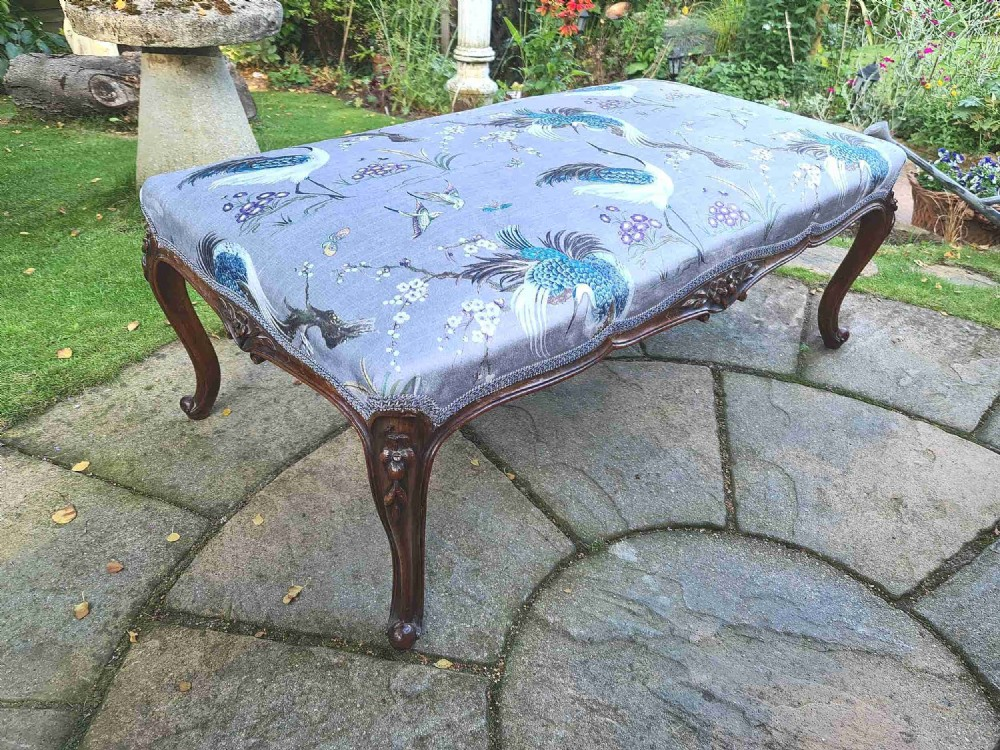 large louis xv style centre stool c1880