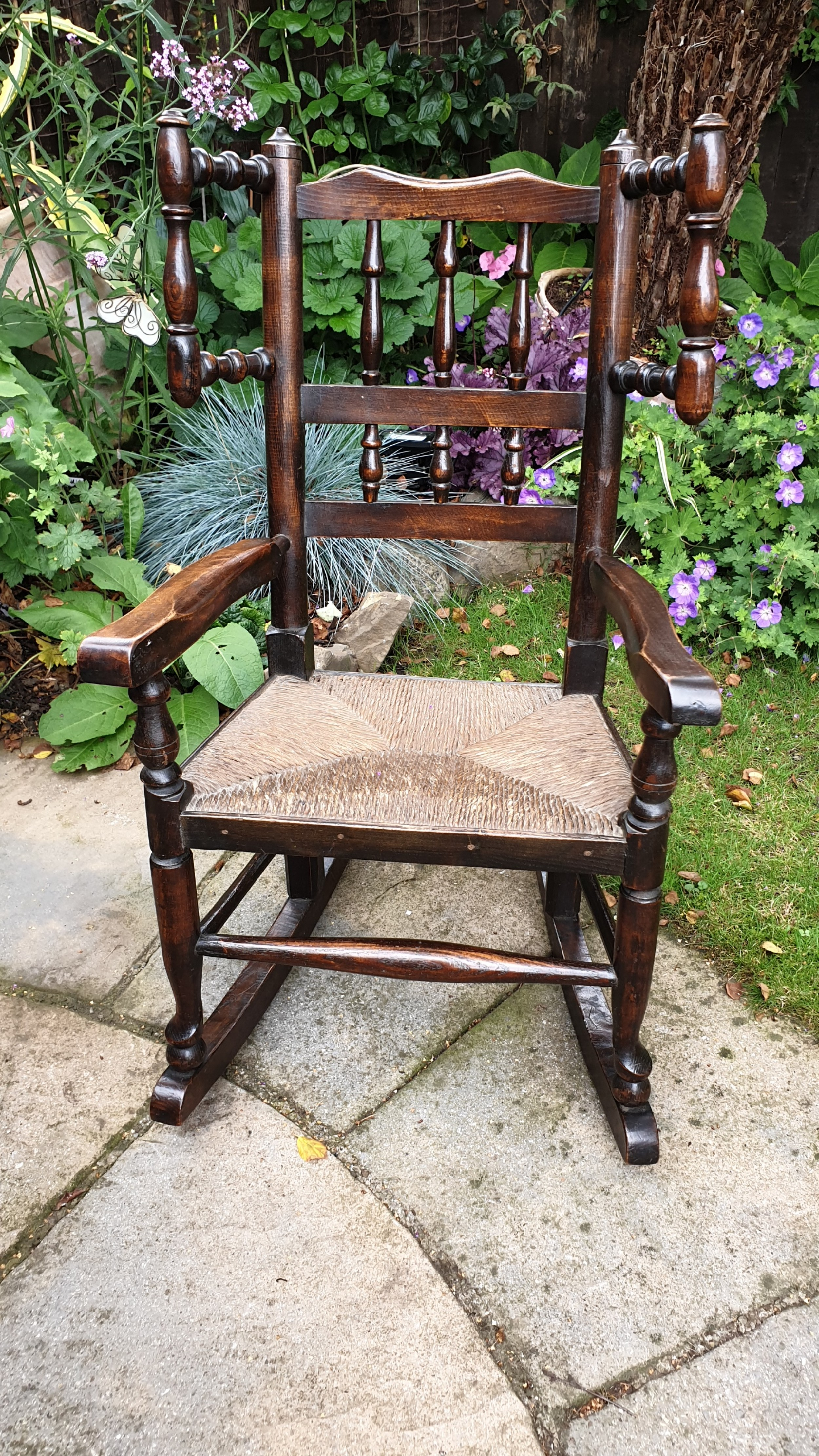 a good 19th century childs rocking chair