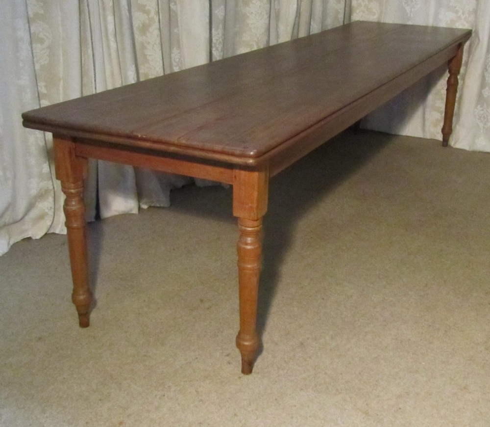 10ft long victorian fruitwood farmhouse table 251187 for 10 foot long table