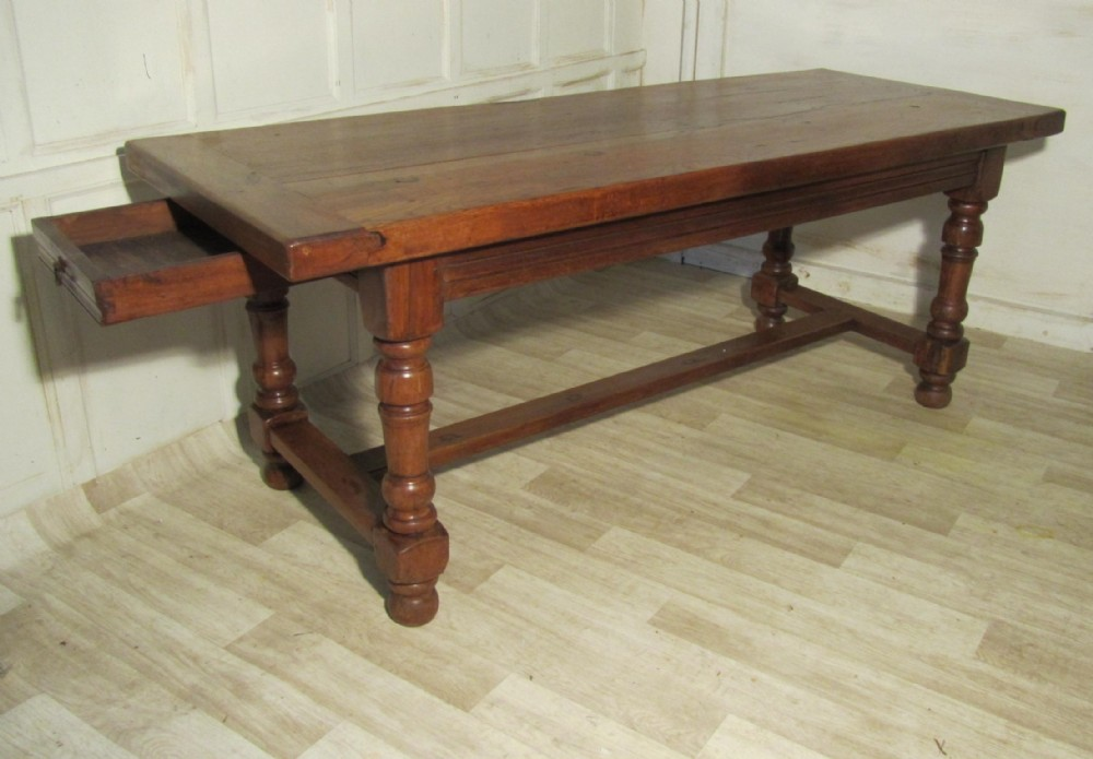 18th Century French Oak Table Very Rustic Farmhouse Table