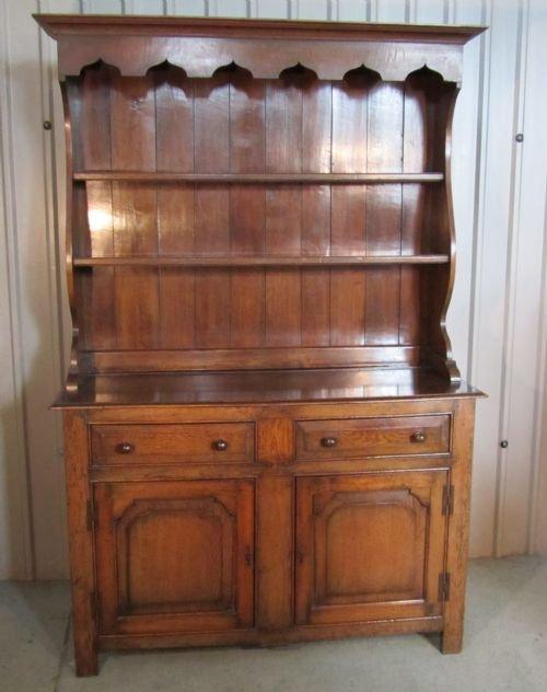 solid oak welsh dresser. Solid Oak Welsh Dresser   112138   Sellingantiques co uk