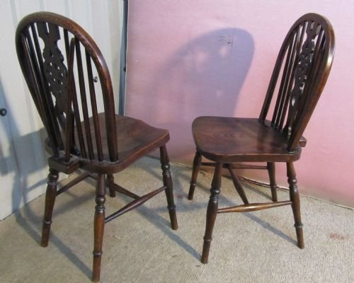 Wooden Dining Room Chairs Elm Ash Beech