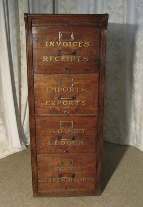 document cabinet antique 1