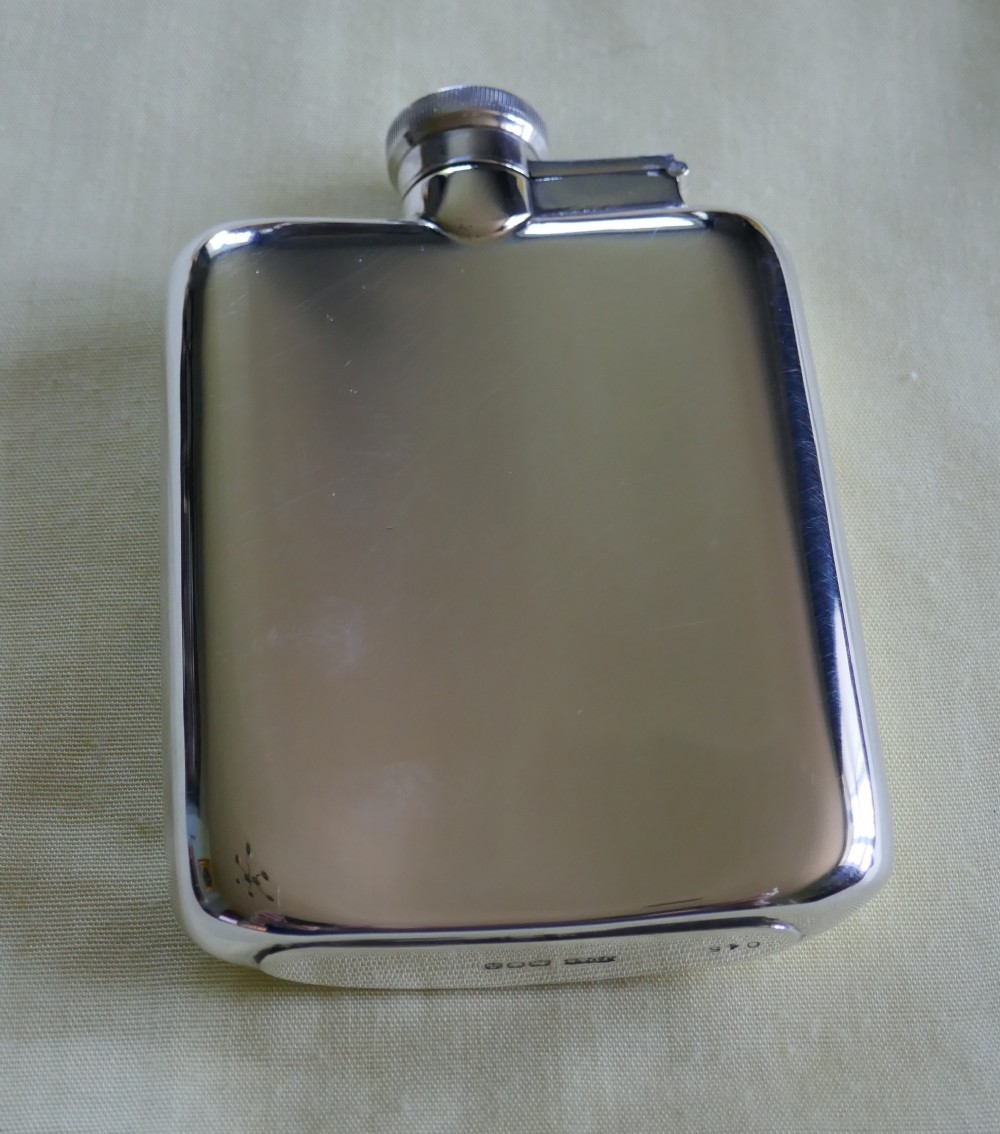 Lovely Silver Hall Marked Flask, James Dixon & Sons Date 1868