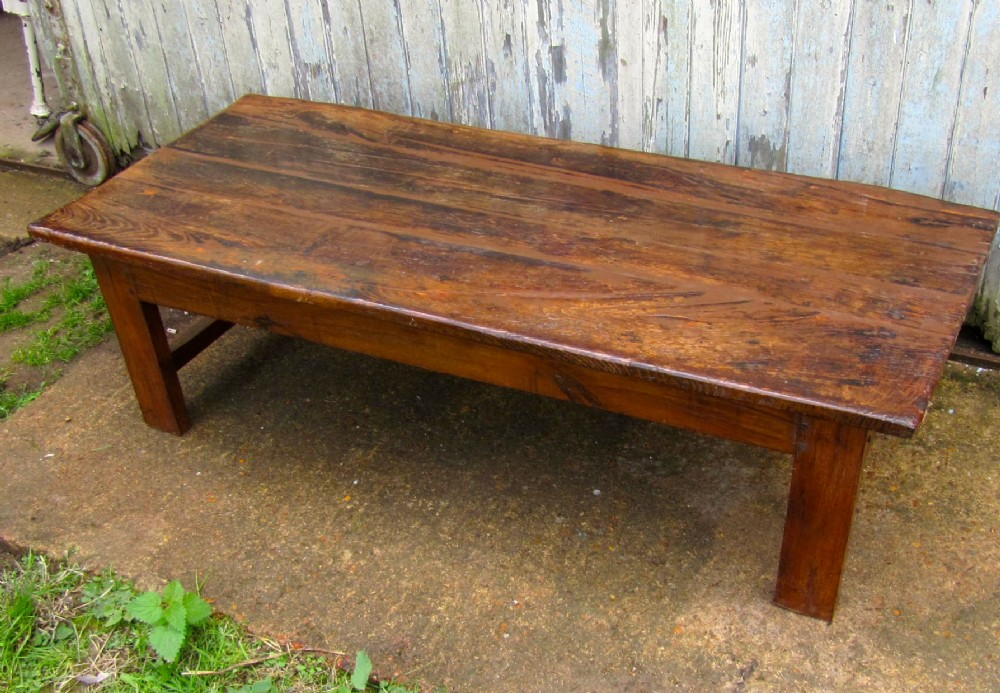 Very Rustic French Farmhouse Coffee Table