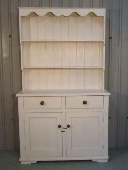 Victorian Painted Pine Welsh Dresser 108216