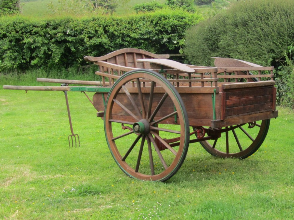 Wooden Horse Drawn Delivery Cart | 263820 ...