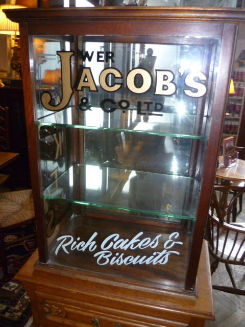Antique Cake Amp Biscuit Shop Display Cabinet 201445