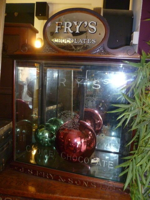 Original Antique Frys Chocolate Display Cabinet 109041