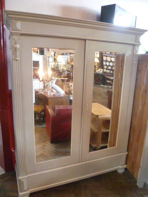 Antique Pine Painted Breakdown Wardrobe 227907 Sellingantiques Co Uk