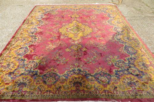 Good Large 1920s Persian Rug / Carpet | 301052 | Sellingantiques.co.uk
