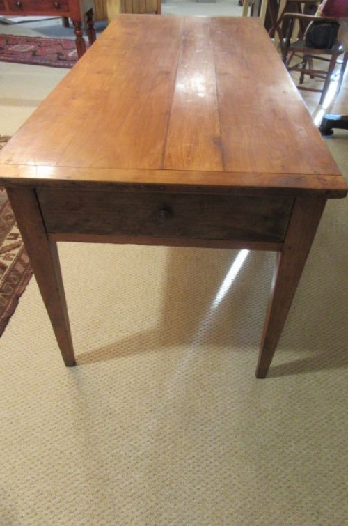 Antique French Fruitwood Dining Table 531949
