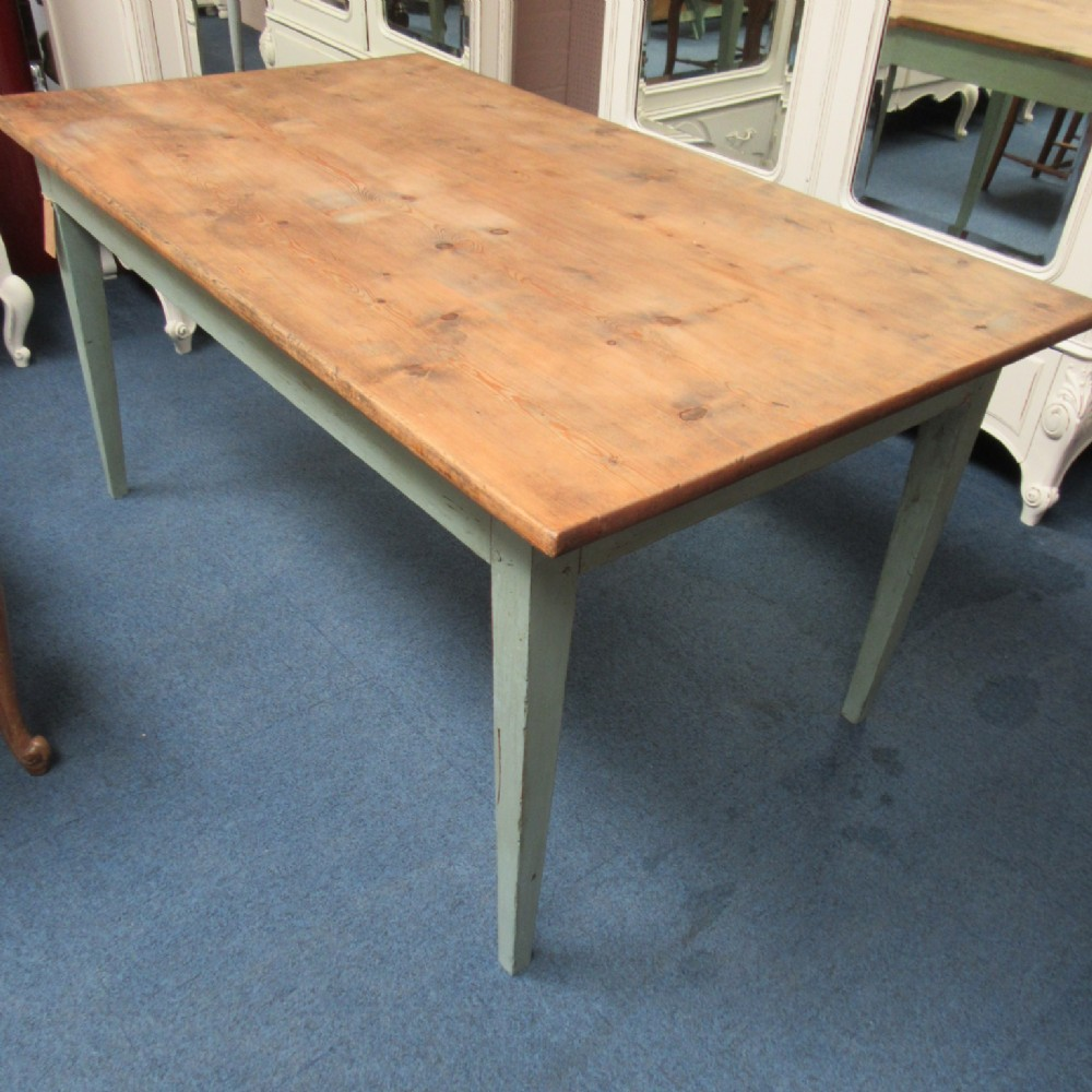 country pine dining table faiworld