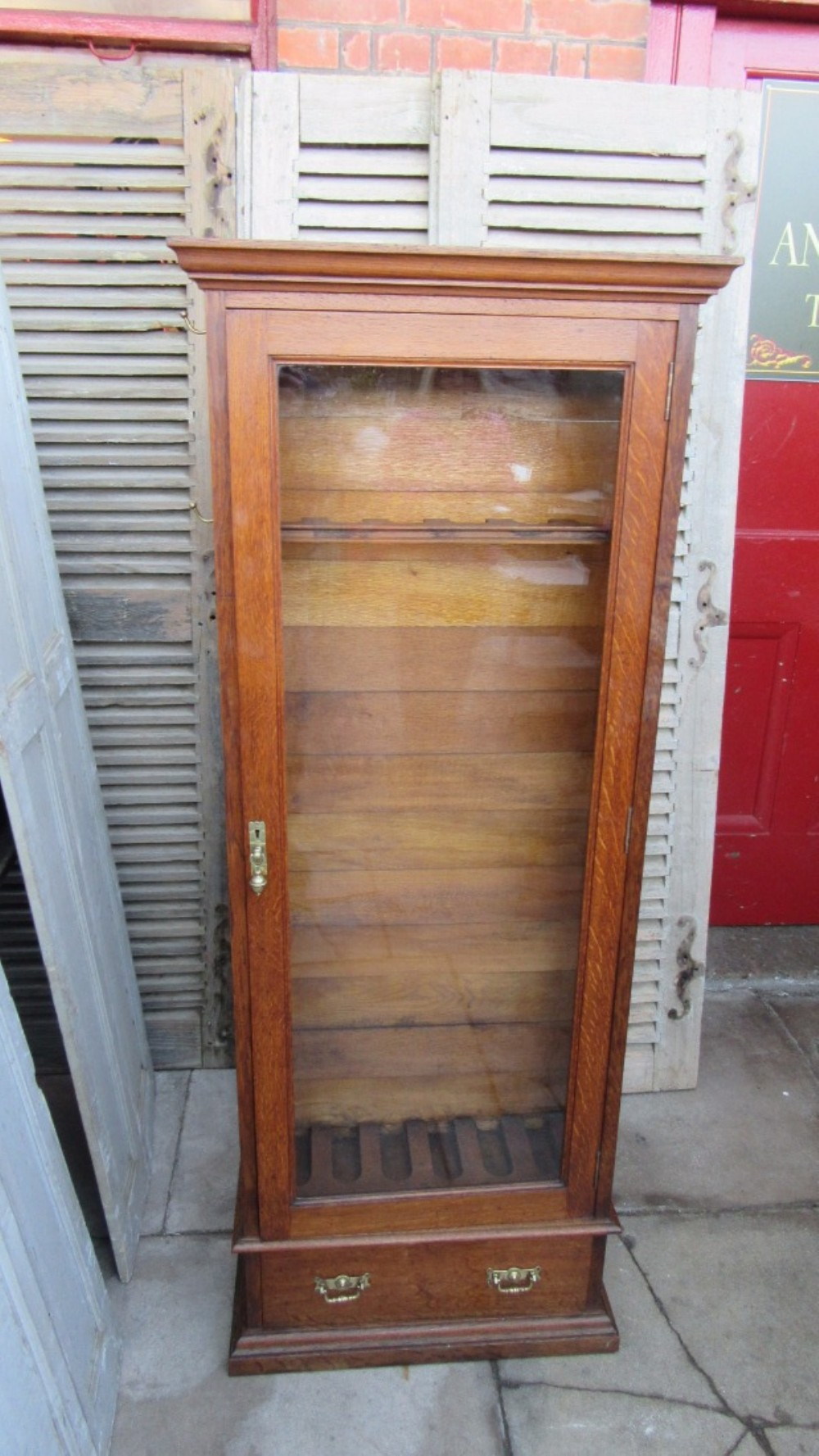 gear guns ammo point at knight price accessories burnt cabinet every for pendleton sale best safes cabinets orange gun