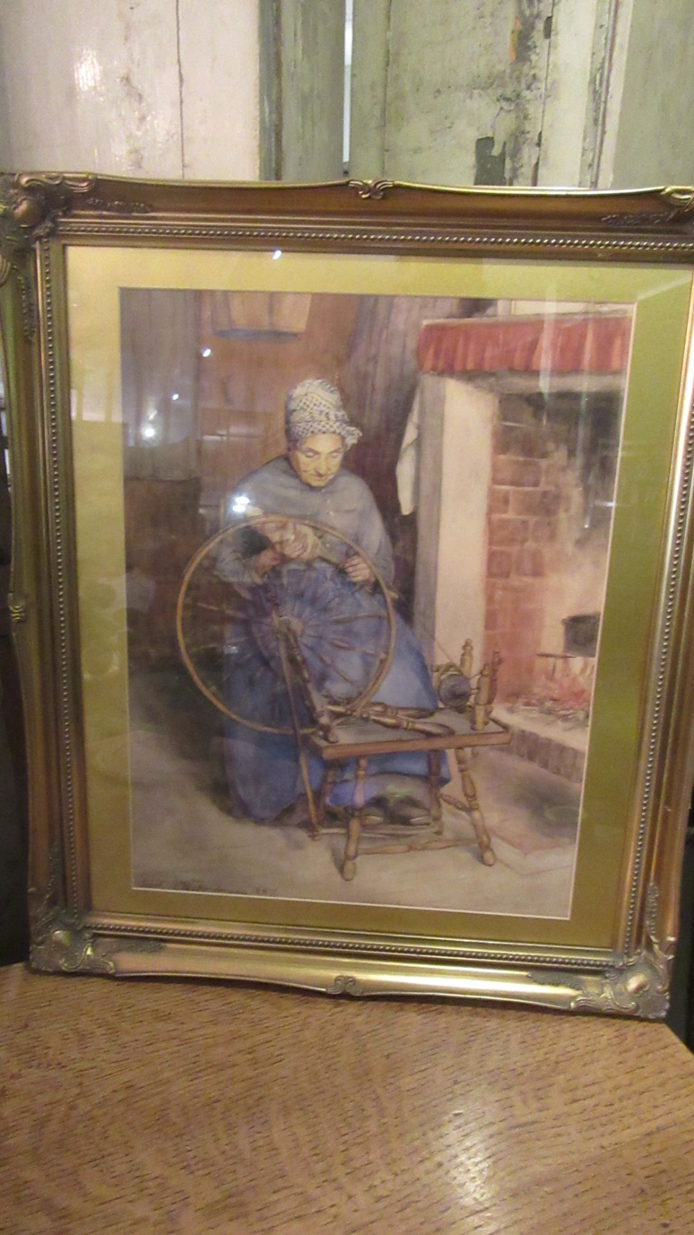 antique watercolour by robert wickendon