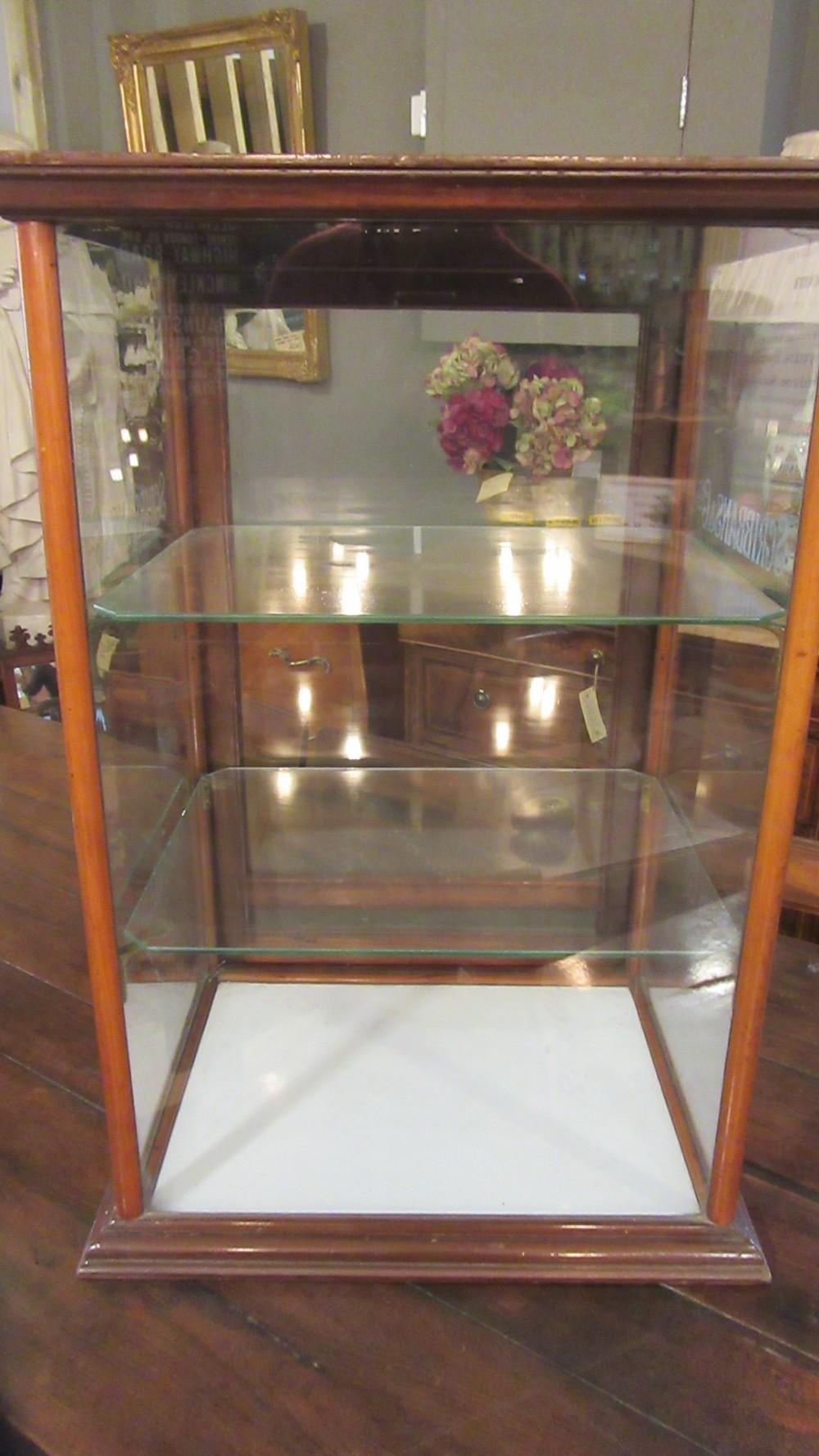 antique scribbans co shop display cabinet