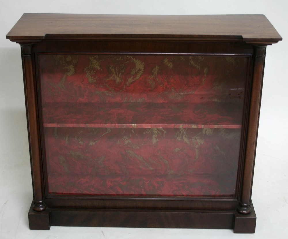 victorian table top shop display cabinet