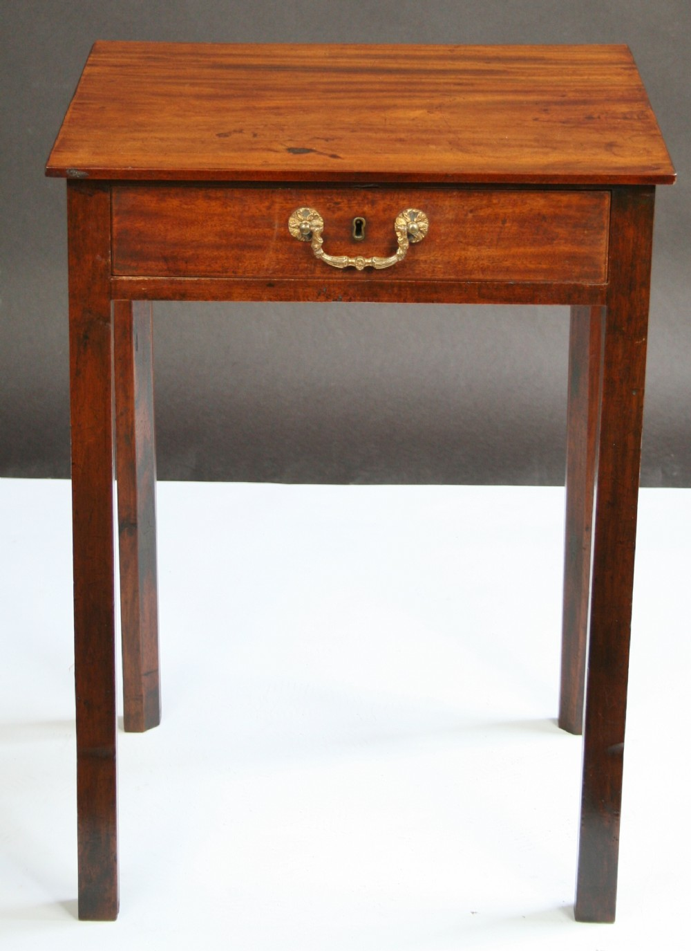 George 111 mahogany single drawer lamp table 286246 george 111 mahogany single drawer lamp table mozeypictures Images