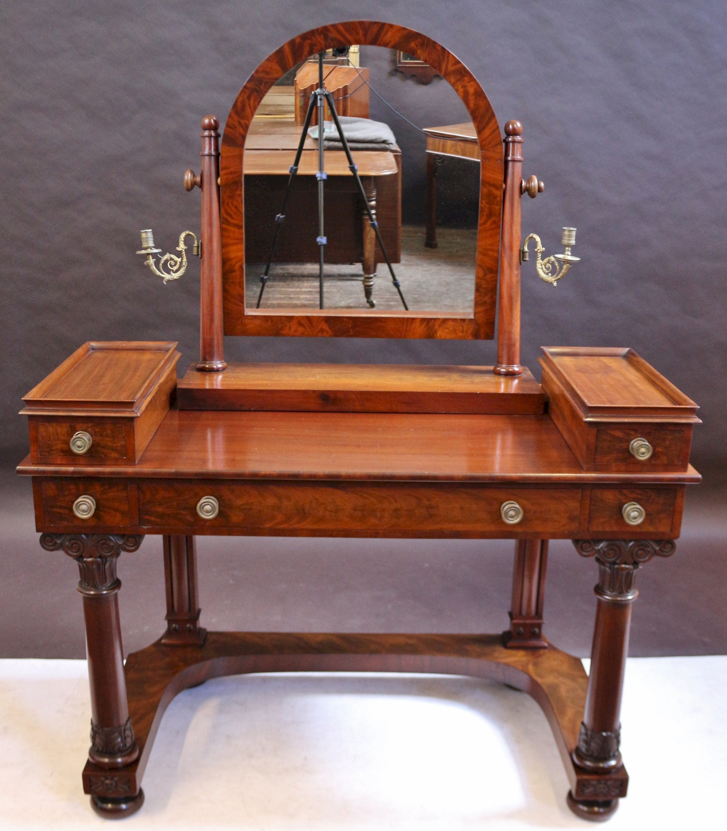 william iv mahogany dressing table