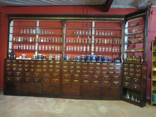 Victorian Mahogany Pharmacy Cabinets 232110