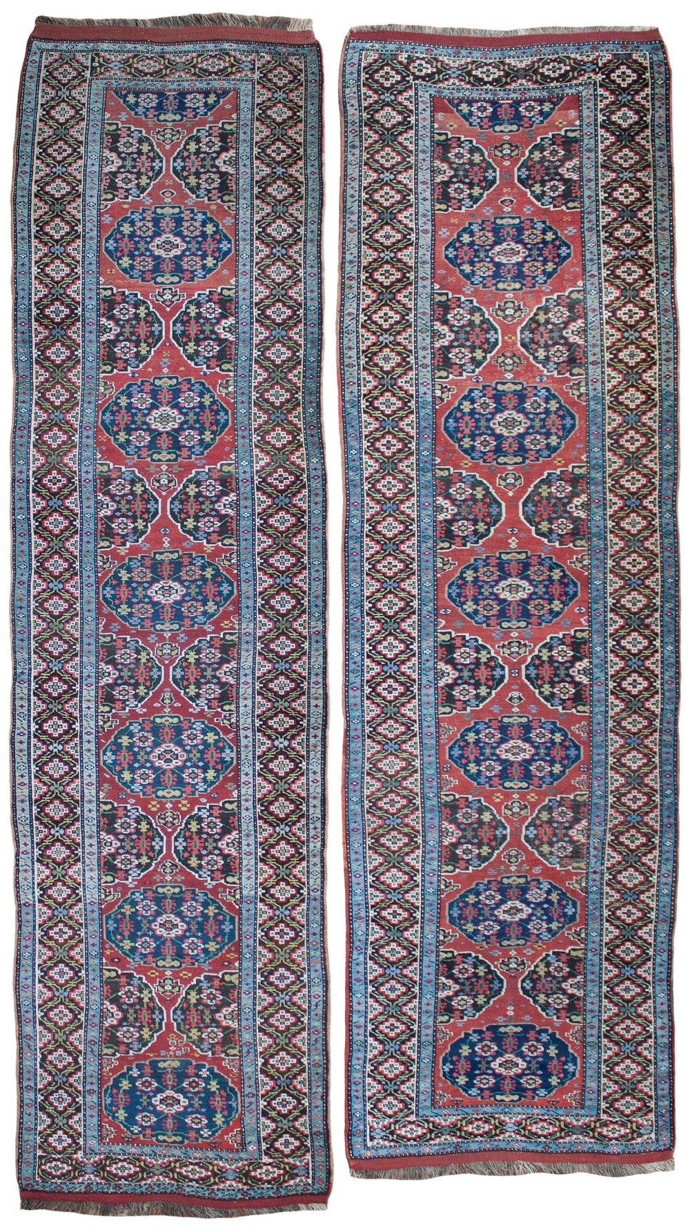 pair of antique northwest persian runners