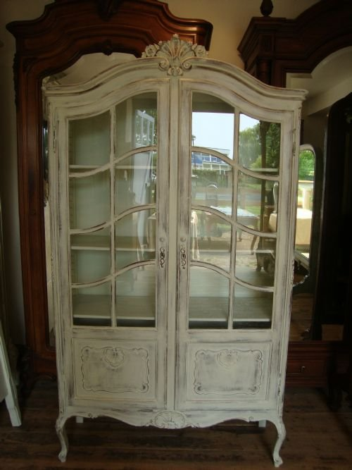 French Vitrine Display Cabinet