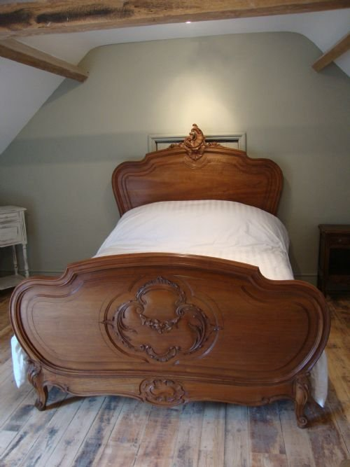 french antque louis xv style bed